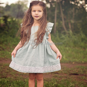 2a40b7acc Little Girls Summer Dress Pretty 2017 Baby Girl Party Dress Children ...