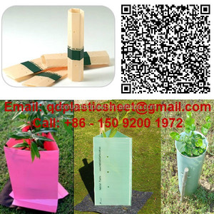 Green Corrugated PP Tree Guards for Plant Protectors