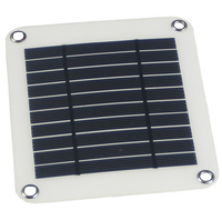 Hot selling 5W output power PET micro solar cell mini small solar panel