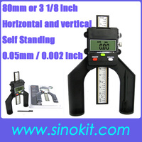 Self Standing Trend Digital Router / Depth Gauge with Magnetic Feet and Flat back 80mm ( 3 1/8 inch) Range TFM-130