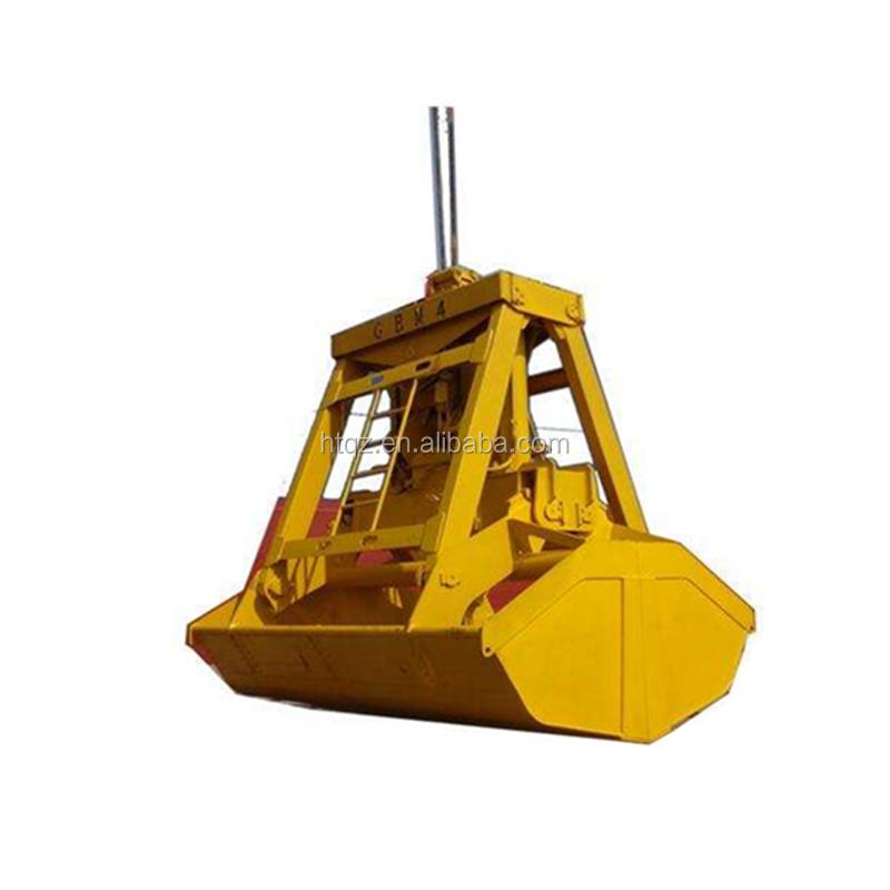 Industrial Use Electric Hydraulic Orange Peel Grab Bucket For Ship Lifting  - Buy Orange Peel Grab Bucket,Grab Bucket For Ship Lifting,Hydraulic Orange