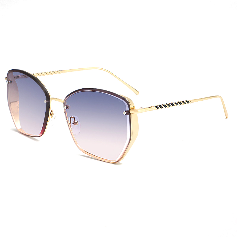 Fashion Unisex Custom Logo Sunglasses Metal Square Frame glasses New Arrival Metal Sunglass Best Seller in USA 2019