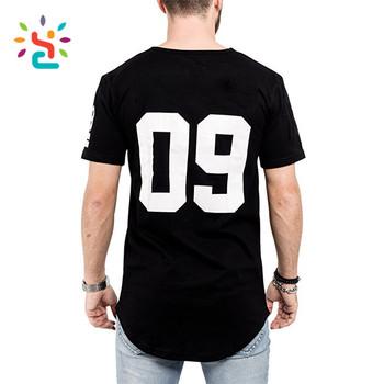 13f9e571 Black extra long t shirt plain 65% polyester 35% rayon long sleeve 3D  printed
