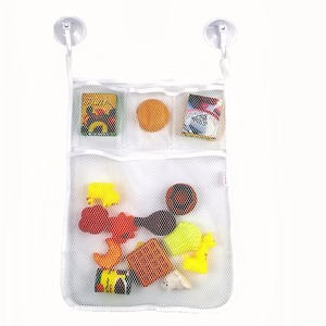 Baby Kids Bathroom Bathtub Organizer And toy hanging Perfect Storage Net Bag