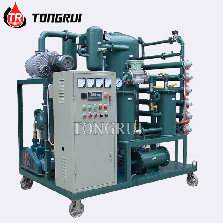 ZJA Two Stage Vacuum Used Transformer Oil Purifier Filter