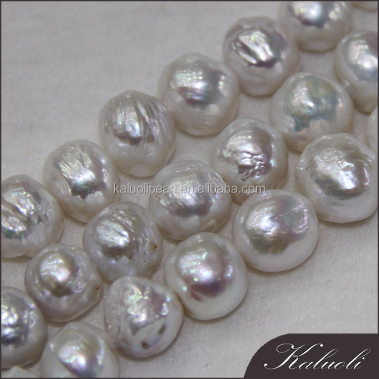 Pearl wholesale 11-14 mm edison A white pearl strand