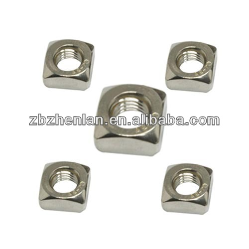 "Galvanized Square Nut 5/8""/bolt and nut/fasteners for auto industry"