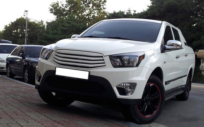 SsangYong New Actyon Sports / Korando Sports exterior tuning body parts