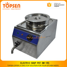 New design electric table top soup heating machine catering food warmer for sale