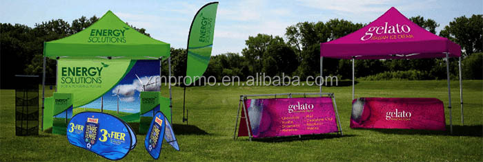 Custom Promotion Event Commercial Exhibition Fold Tent 3x3m