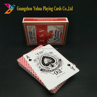 Casino Quality Paper Retail Poker Playing Cards, Entertainment Hot Poker Cards, table games