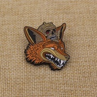 Custom stainless iron badge animal theme badge for souvenir gifts
