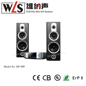 China Alibaba hot DF-99P Powerful Stereo Speaker with CD FM USB MICRO CARD home theater surround sound system