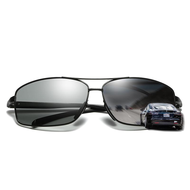 2017 en métal de mode lunettes de soleil polarisées photochromiques lunettes  de soleil pour hommes 9e9437302226