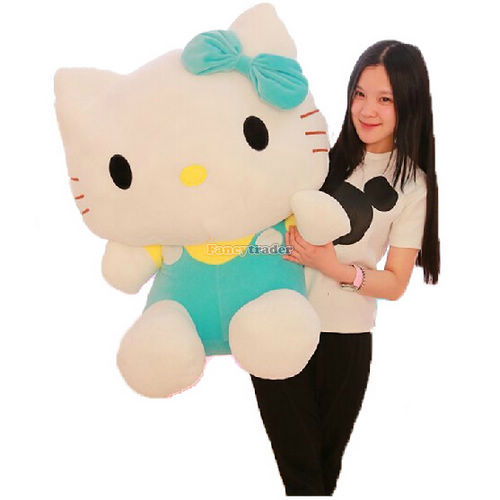 Fancytrader High Quality Hello Kitty Toy 31'' 80cm Giant Plush Stuffed Hello Kitty Kids 3 Colors Available+Free Shipping FT90169