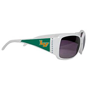 1b600298f783 Get Quotations · LaVerne Ladies White Rhinestone Sunglasses   ...