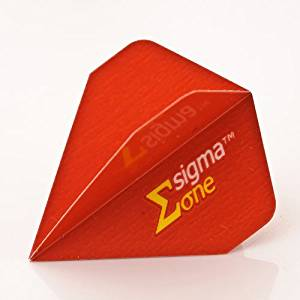 UNICORN SIGMA ONE RED DART FLIGHTS DELTA STEALTH by PerfectDarts