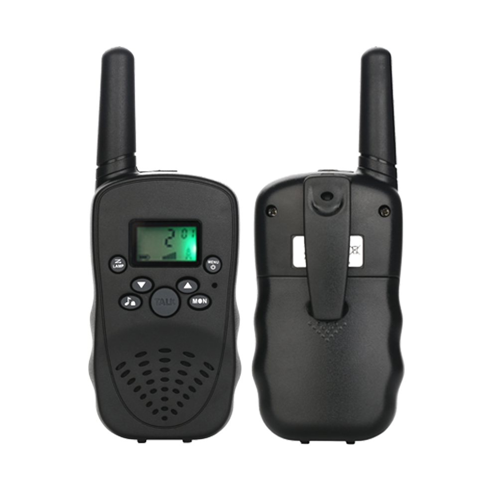 Nuovo Mini Handheld Radio Bidirezionale Con Display LCD Bel Guardare Per I  Bambini