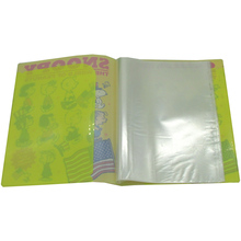 Custom Design Kantoor A4 Size Clear Plastic 20/100 Zakken mappen Display Boek