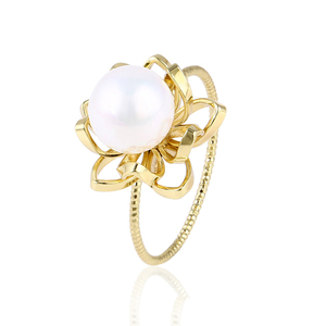15347 Xuping best selling fashion plastic bead designs finger ring jewelry