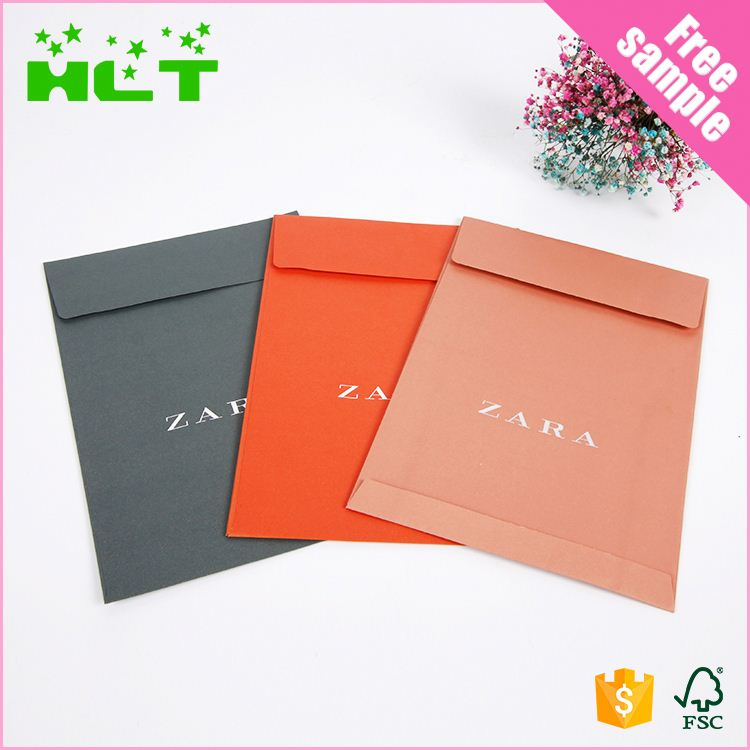 Custom Logo Small Size envelope paper gift bag with cheap price