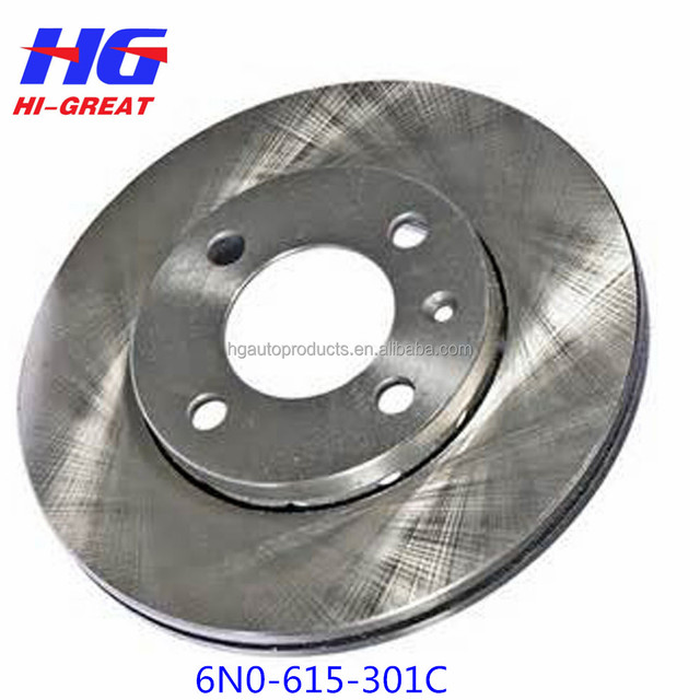 6N0-615-301C Strong durable and customized vw POLO/SEAT AROSA brake disc/rotor
