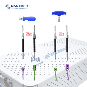 Spine Reduction Instruments Set for Spine Screws System Fixation