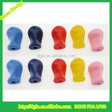 Silicone rubber Pencil Grip/Rubber Fingertip Grips/Pen Holder