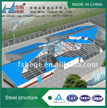 construction steel frame warehouse