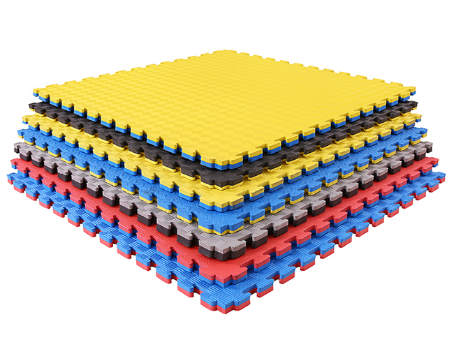 2019 hot sale roll out eva judo wall floor puzzle tatami mat exercise room