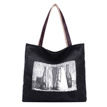 Fabriek Groothandel hoge kwaliteit canvas custom made wit <span class=keywords><strong>sublimatie</strong></span> polyester tote handtassen