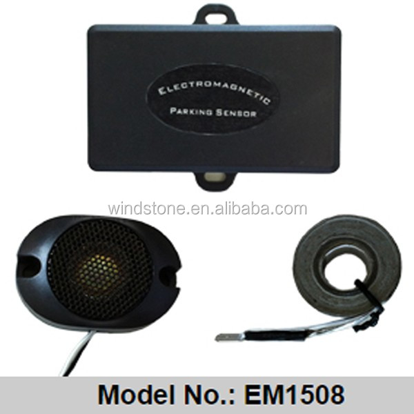 Easy Install Auto Electromagnetic Parking sensor,No Drill No Hole,Car Reverse Parking Radar System