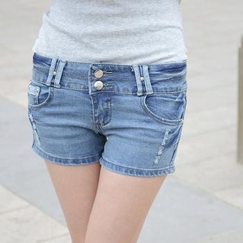 Korte Broek Dames Jeans.Europa En Amerika Retrostyle Hete Verkopen Dames Korte Broek Zomer