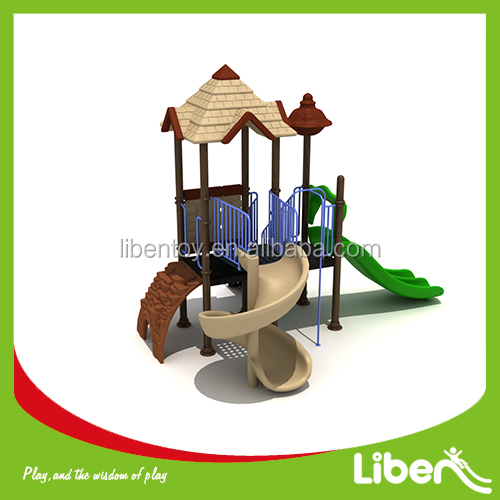 2014 Children Amusement Park Castle theme Commercial Used Outdoor Playground Equipment for sale LE.GB.008