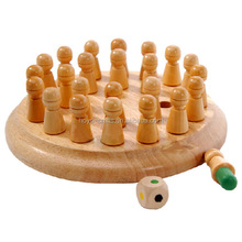 <span class=keywords><strong>Kids</strong></span> Game Montessori Materialen Educatief Houten Geheugen Match Stick Schaakspel