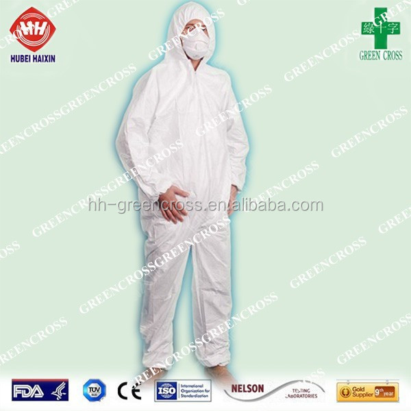 EBOLA Virus Protect Disposable Yellow Type 3/4 Workwear