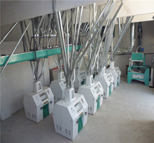 Industrial wheat flour milling machines