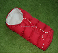 Stylish and comfortable outdoor essential quality feather sleeping bag for children
