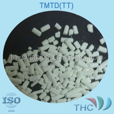 Rubber chemical Rubber Accelerator TMTM (CAS NO:97-74-5) for Rubber Industrial From shanghai THC