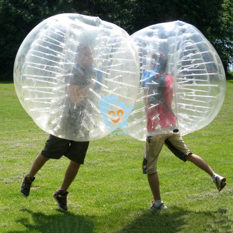 relaxation football stadium human inflatable bumper bubble ball