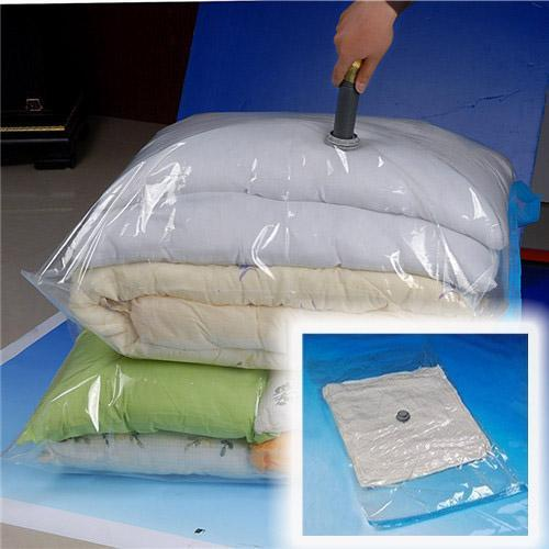 New Wholesale High Quality Space Saver Saving Storage Vacuum Seal Compressed Organizer Bag 7050cm For Home Storage Convenient