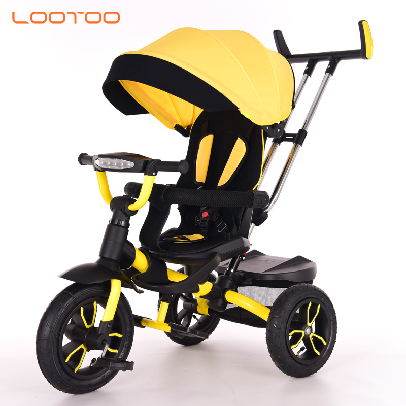 child tricycle baby with pneumatic tyre / 14 inch children trike / cheap trikes for kids pedal car