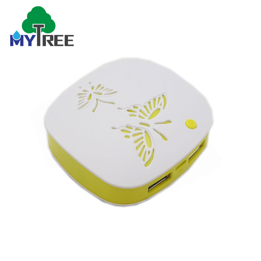Butterfly Shape Dual Usb Power Bank,Mobile Cell Smart Phone Power Bank With Certificate
