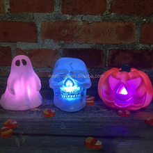 Light Up Halloween Figures