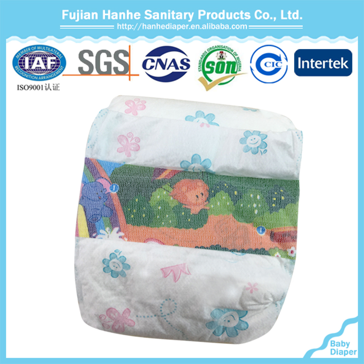 Elastic waistband baby diaper absorption with good price