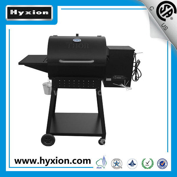 2017 New Patent Sinpole CE/CSA/GS Approved Outdoor Pellet BBQ Smoke Grill