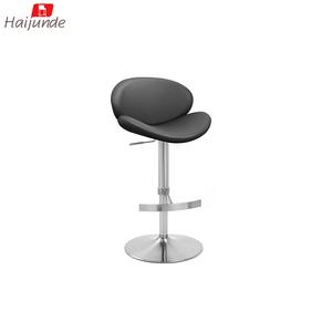 Pleasant Black Color Swan Design Shape Bar Stool Adjustable Bar Stools Supplier Lamtechconsult Wood Chair Design Ideas Lamtechconsultcom