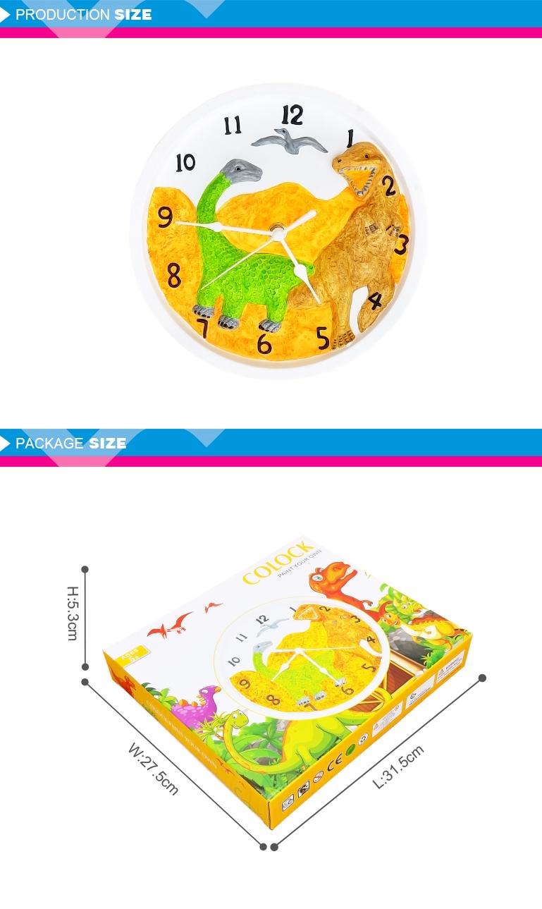 Renkli Saat Boyama çocuklar Için Set Eğitim Seti Buy çocuklar Için