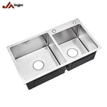Factory Price 8245 Handmade Stainless Steel Kitchen sink, View 30 kitchen  sink, Angjun Product Details from Zhongshan Suole Precision Machining ...