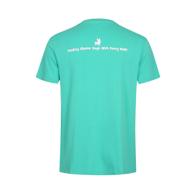 RPET custom 100% Polyester Eco-friendly short sleeve printing printed t shirts